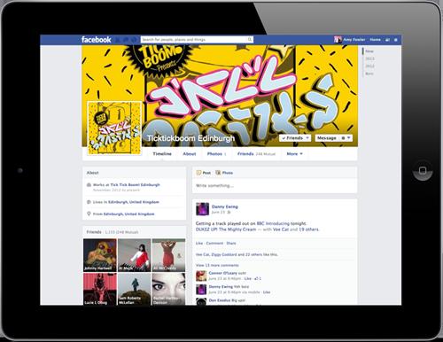 Siren Digital Facebook Marketing for Tick Tick Boom Edinburgh