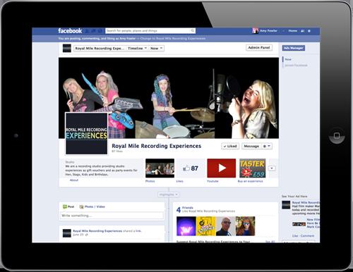 siren digital facebook pages royal mile recording