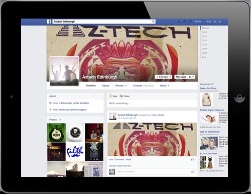 Siren Digital Facebook Marketing Az-Tech Edinburgh
